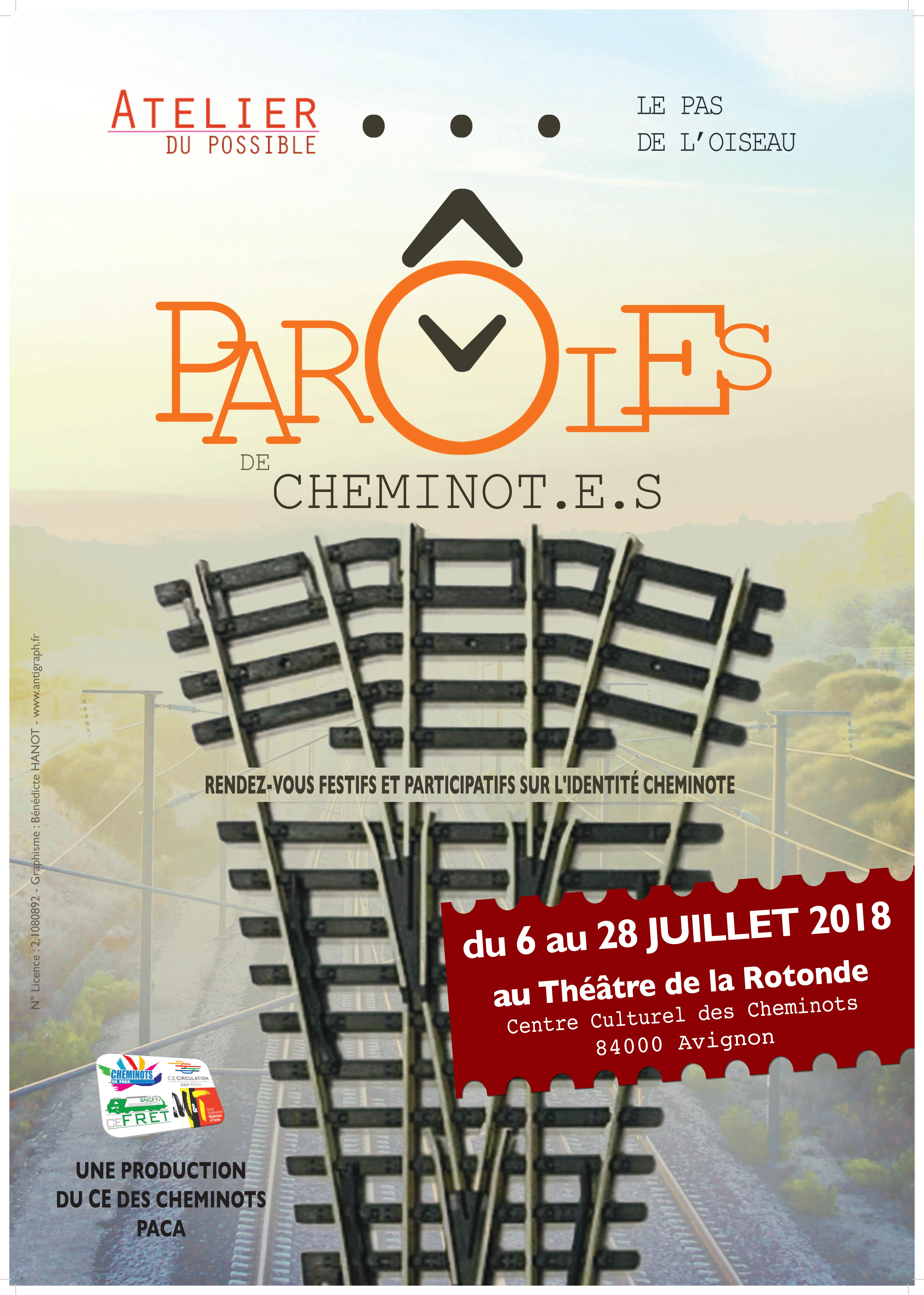 Paroles Cheminotes