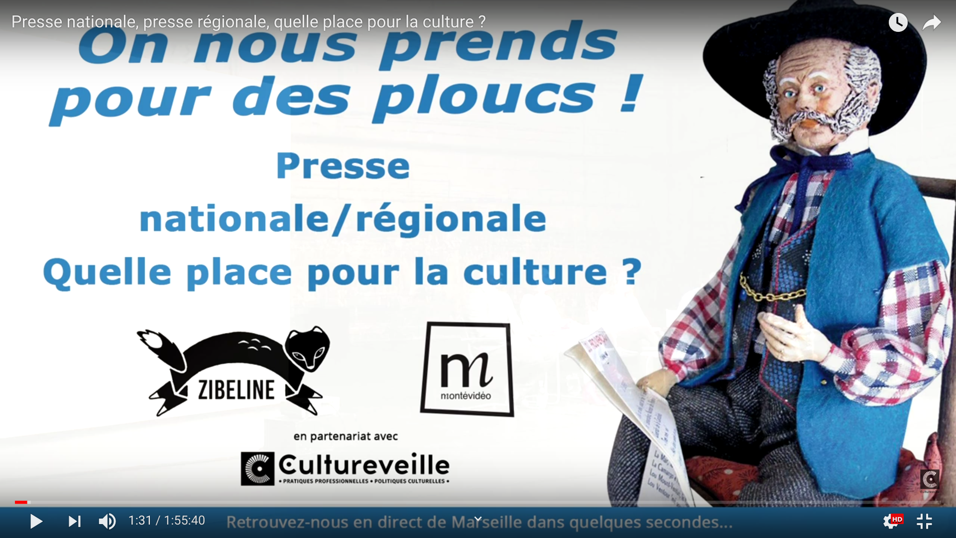 Presse nationale, presse régionale, quelle place pour la culture ?